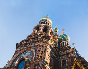 The Church of the Savior on Spilled Blood. Saint Petersburg, Rus