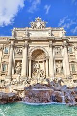 Trevi Fountain. Rome, Italy.