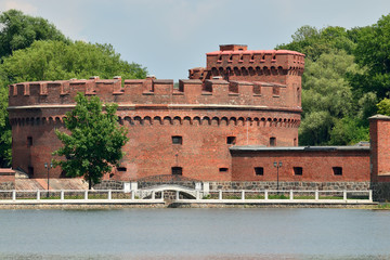 Defensive tower Der Dohna. Kaliningrad (formerly Koenigsberg)