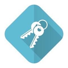 keys flat icon