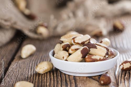Portion of Brazil Nuts - 78216677