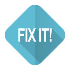 fix it flat icon