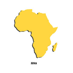 Map of Africa  for your design