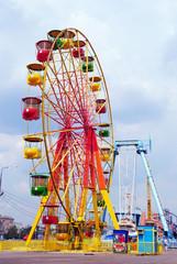 Ferris wheel in Moscow