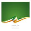 New abstract Ireland flag ribbon - 78219488