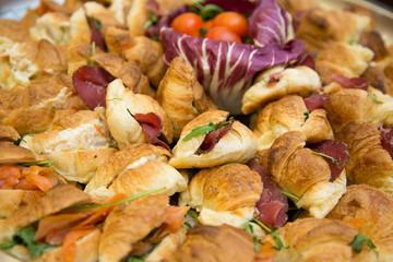 Panini rustici ripieni - stuffed sandwiches