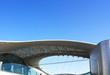 Leinwanddruck Bild - Buildings dome  of the steel color