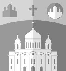 Cathedral of Christ the Saviour. Russia