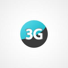 Three G web icon