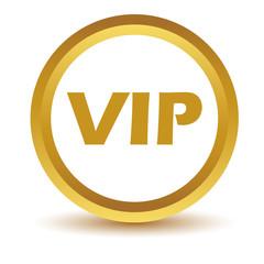 Gold vip icon