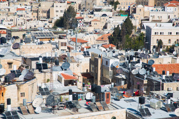 Muslim Village in East Jerusalem