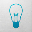 Vector Illustration of a Light Bulb Icon