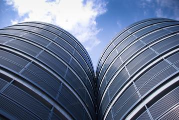 円柱型の建築