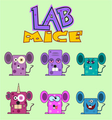 Lab mice set