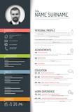 cv / resume template - 78224465