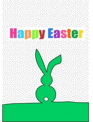 Happy Easter colorful