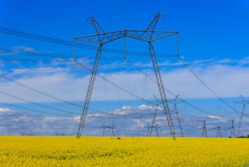 hight voltage power line