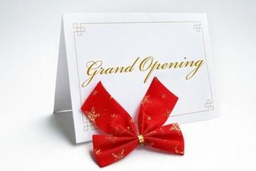 Invitation- grand opening