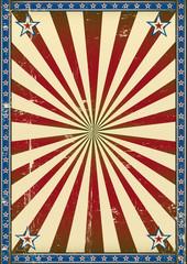 Retro poster patriotic background