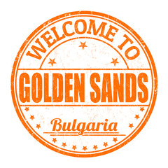Welcome to Golden Sands stamp
