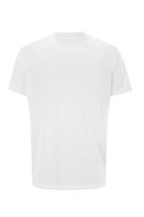 White t-shirt isolated on white