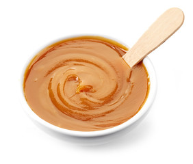 bowl of caramel