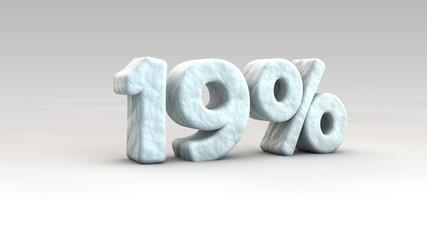 19% ice
