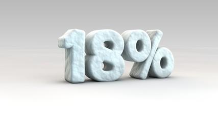 18% ice