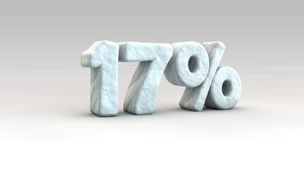 17% ice