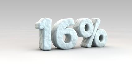 16% ice