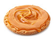 bread cookie with caramel cream