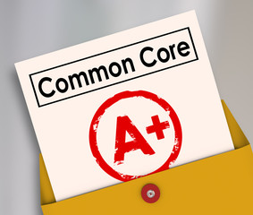 Common Core New School Education Standards Report Card A Plus