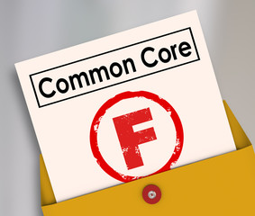 Common Core Bad Score Results Report Card Poor Performance