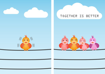 Unite, together is better