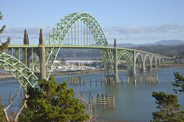 Yaquina Bay Bridge Newport Oregon