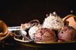 Sweet homemade ice cream - 78235008