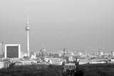 Berlin Panorama schwarzweiß