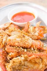 stir fried shrimp with garlic