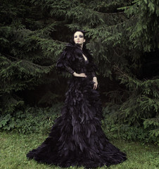 Dark Queen in park