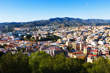 andalusian city.   Malaga