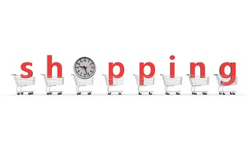 it's time for shopping