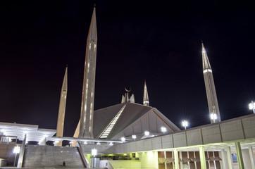 Shah Faisal Mosque Islamabad