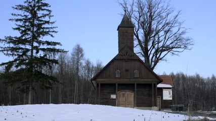 old chapel in lucelnica