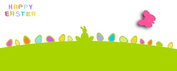 Wiese Grün Gras Ostern Hintergrund