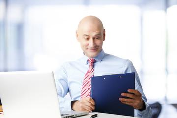Sales man portrait