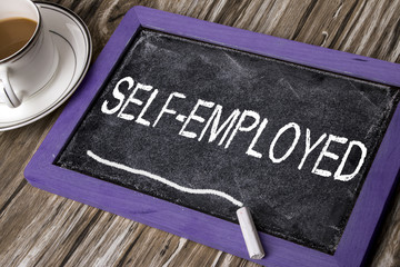 self-employed concept