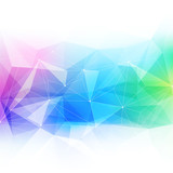 Fototapety Colorful abstract crystal background.