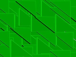 Фон из множества зеленых треугольников