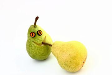 Lustige Birne + Birne