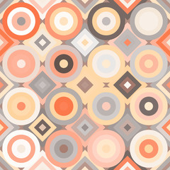 seamless background with abstract geometric shapes